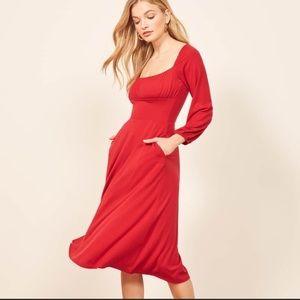 Reformation Pippa Dress Sz Xs NWT